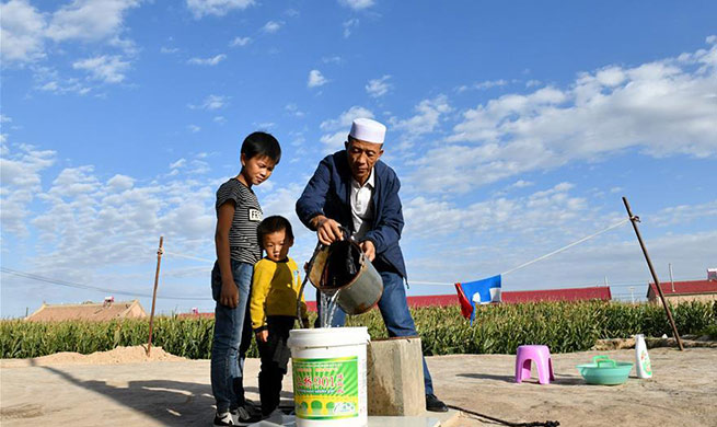 Water projects help improve water supplies in village of NW China's Ningxia