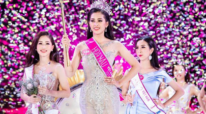 University freshwoman crowned Miss Vietnam