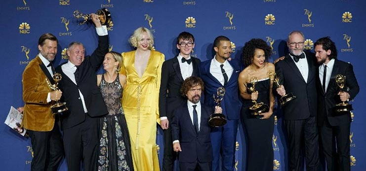 """""""Game of Thrones,"""" """"Marvelous Mrs. Maisel"""" win big at 70th Primetime Emmy Awards"""