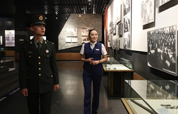 Xinhua Headlines: China museum guide commemorates war history to promote peace