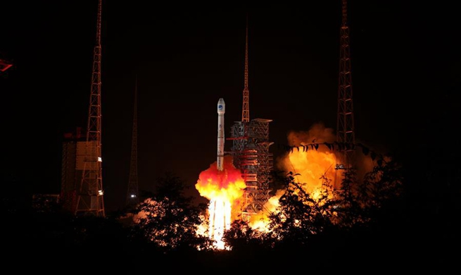 China launches twin BeiDou-3 satellites