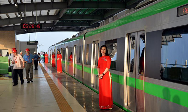 China-constructed urban railway in Vietnam on horizon