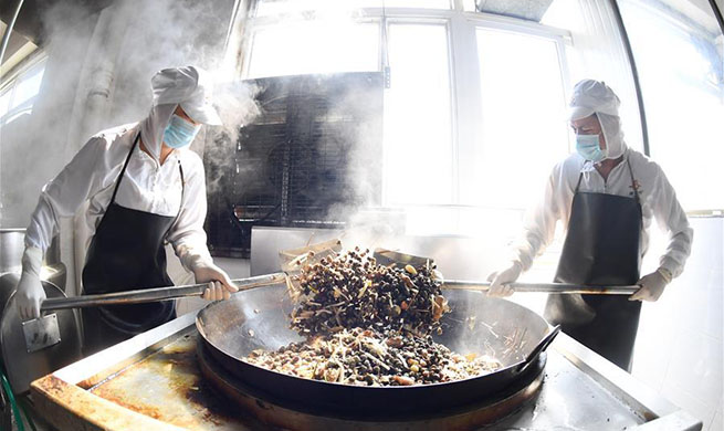 Promotion of river snail rice noodles benefits locals in China's Guangxi