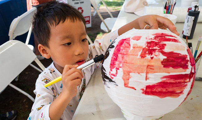 People prepare for upcoming Chinese Mid-Autumn Festival in Los Angeles