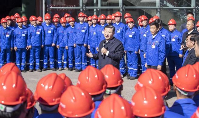 President Xi Jinping inspects Qiqihar in Heilongjiang