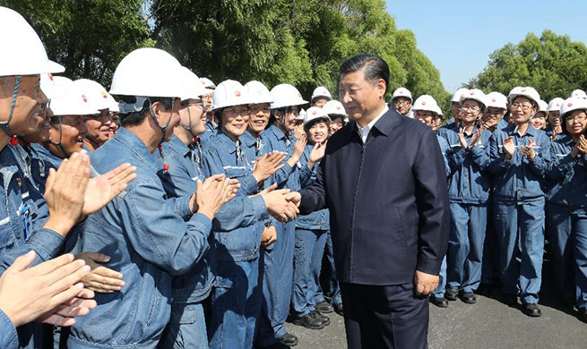 President Xi Jinping inspects Liaoning