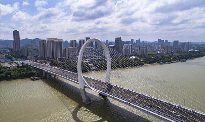 Baisha Bridge put into use in Liuzhou, S China