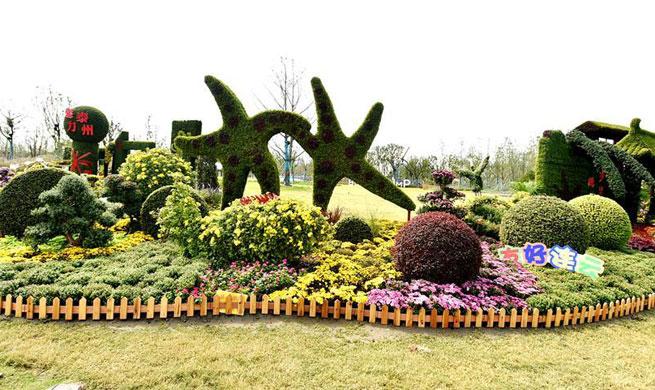 Jiangsu Horticultural Expo held in Yangzhou