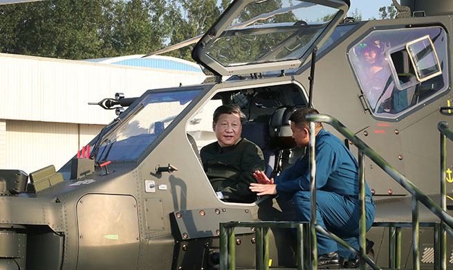 Xi inspects military, stresses training, war preparedness