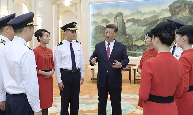 Xi calls for learning from heroic cabin crew