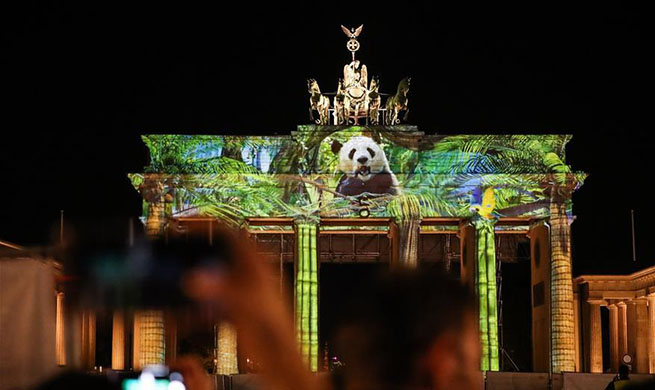Berlin turns into city of light art with opening of Festival of Lights