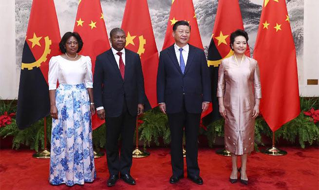 China, Angola agree to advance bilateral ties