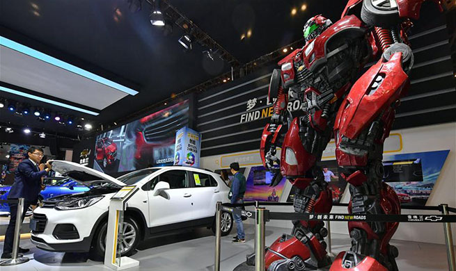 Taiyuan Int'l Automobile Exhibition held in N China's Shanxi