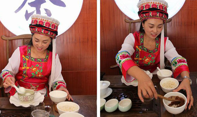 """Three Bowls of Tea"": welcoming tradition of Bai ethnic group"