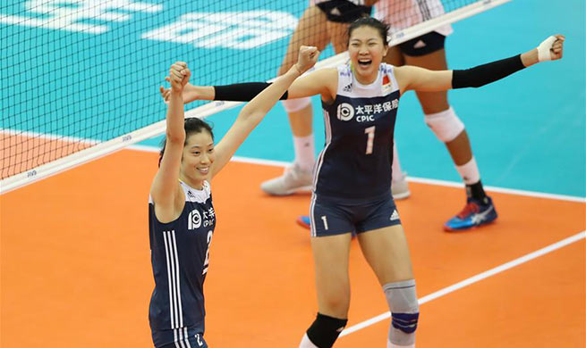 Volleyball Women's World Championship: China beats U.S. 3-2