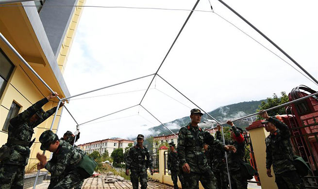 Over 8,000 residents living along landslide-affected area relocated