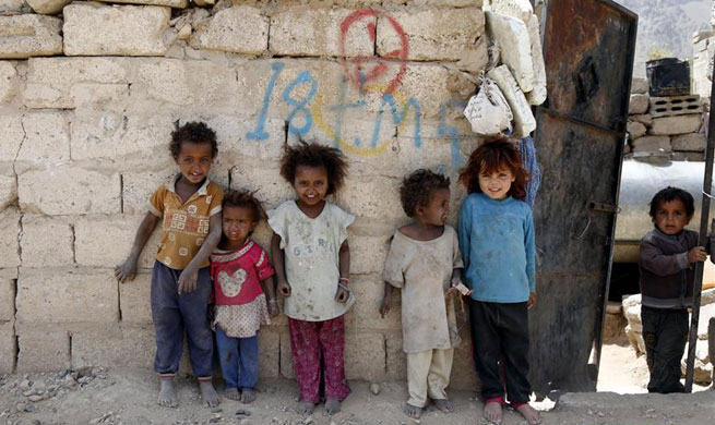 Over 78,400 families displaced since onset of clashes in Yemen