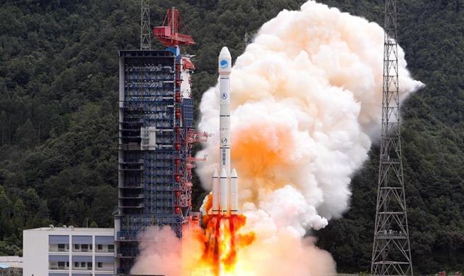 China launches twin BeiDou-3 satellites