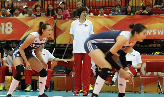 China beats Netherlands 3-1 at Volleyball Women's World Championship