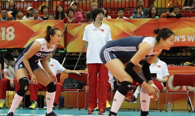 China beats Netherlands 3-1 at Volleyball Women's World Championship