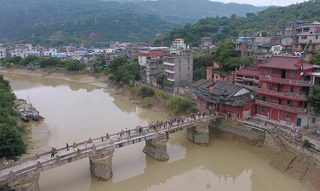 In pics: ancient village of Min'an in Tingjiang Town, China's Fuzhou
