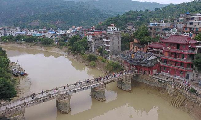 In pics: ancient village of Min'an in Tingjiang Town, China's Fuzhou