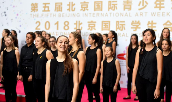 Highlights of Int'l Students Choral Festival Beijing 2018