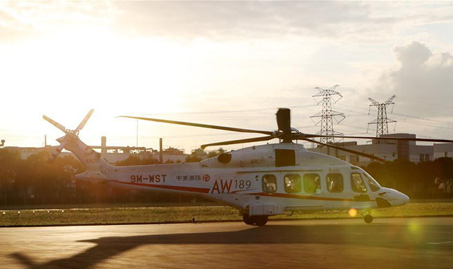 AW189 helicopter to be exhibited at CIIE