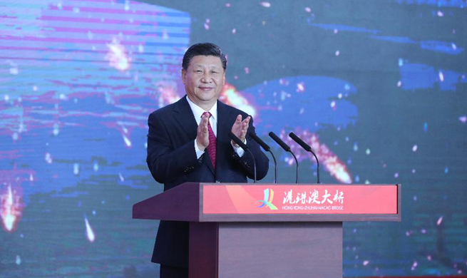 Xi announces opening of Hong Kong-Zhuhai-Macao Bridge