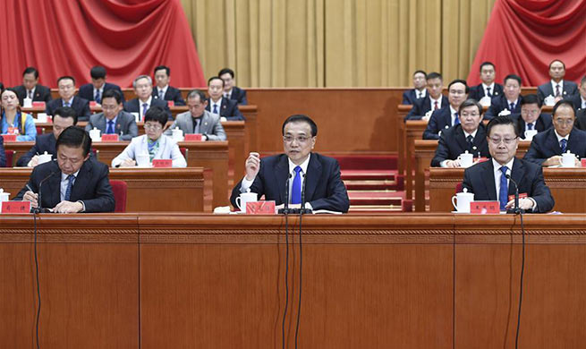 Premier Li vows to brave challenges, bolster economy