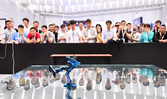 National Robot and Artificial Intelligence Competition held in Foshan