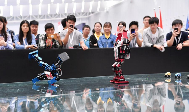 In pics: 20th National Robot and Artificial Intelligence Competition