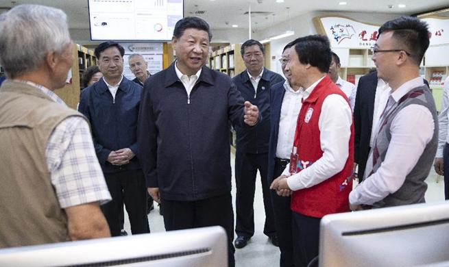 Xi Jinping inspects Shenzhen