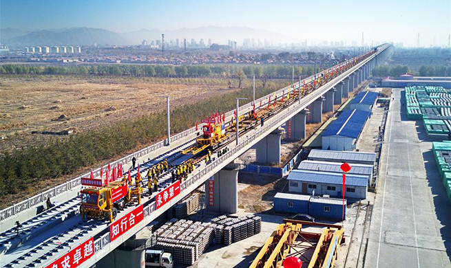 Beijing-Zhangjiakou high-speed railway to be completed in 2019