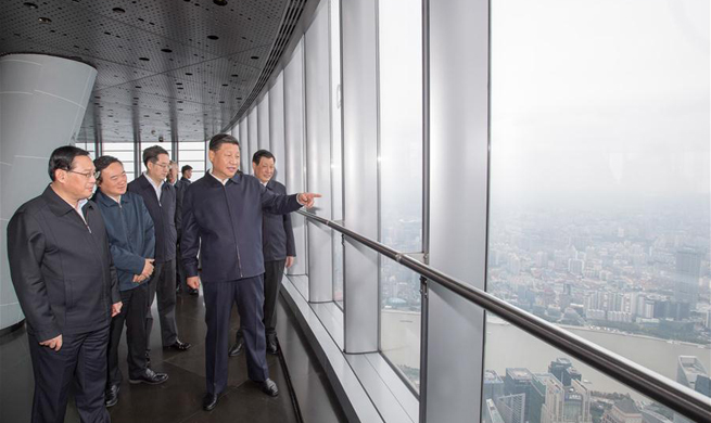 Xi stresses furthering reform and opening-up, elevating city core competitiveness during Shanghai inspection