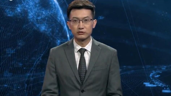 "World's first AI news anchor makes ""his"" China debut"