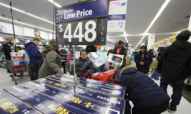Black Friday sales start in New York