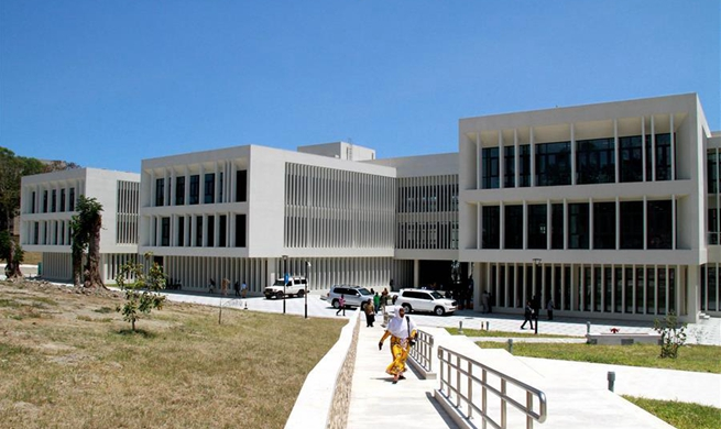 China-aided university library complex handed over to Tanzania