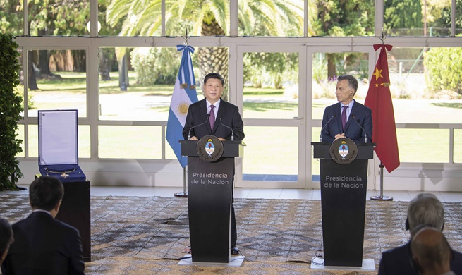 Xi awarded Argentina's highest decoration