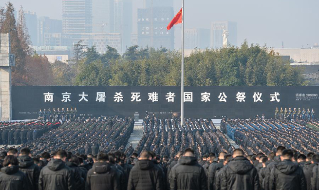 Xinhua Headlines: China observes national memorial day with praying for peace