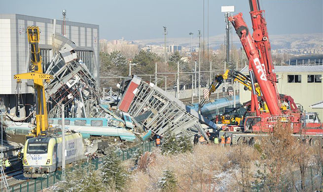At least 9 dead, dozens injured in high-speed train accident in Ankara