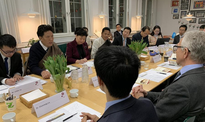 Chinese NPC Tibetan delegation visits Denmark, expounds major achievements in Tibet