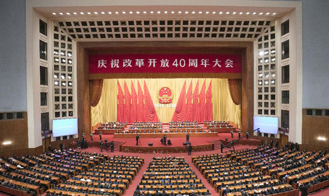 China marks 40th anniversary of reform and opening-up