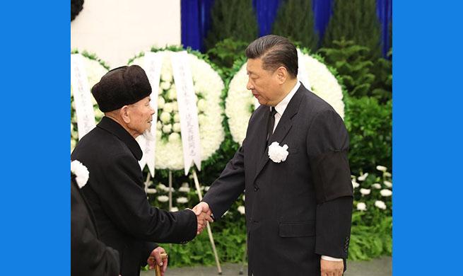 Funeral of Tomur Dawamat held in Beijing