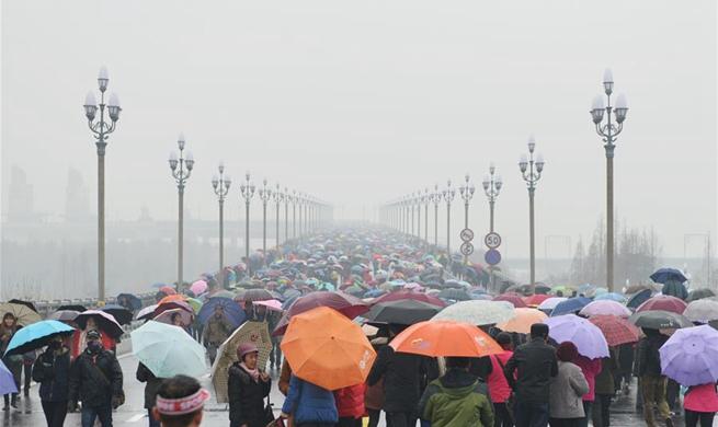 Nanjing Yangtze River Bridge reopened after renovation