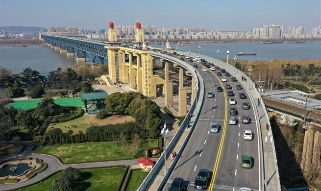 China's landmark Yangtze river bridge reopens to traffic