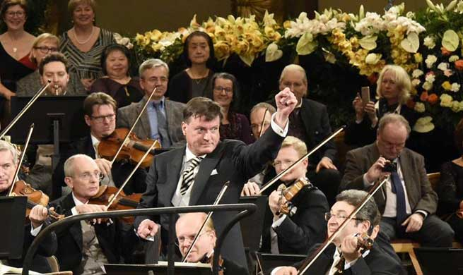 In pics: rehearsal of New Year's concert at golden hall of Vienna's Musikverein