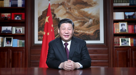 President Xi delivers New Year speech