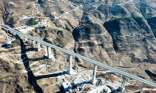 Liupanshui-Weining Highway in SW China opens to traffic