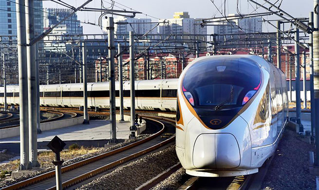 China to put into use new train diagram from Jan. 5